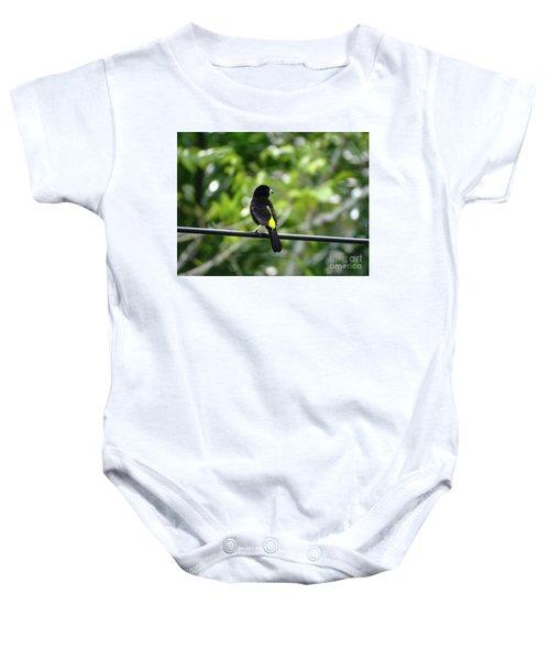 Lemon-rumped Tanager Baby Onesie