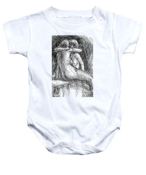 Lesbian Sketches  1 Baby Onesie