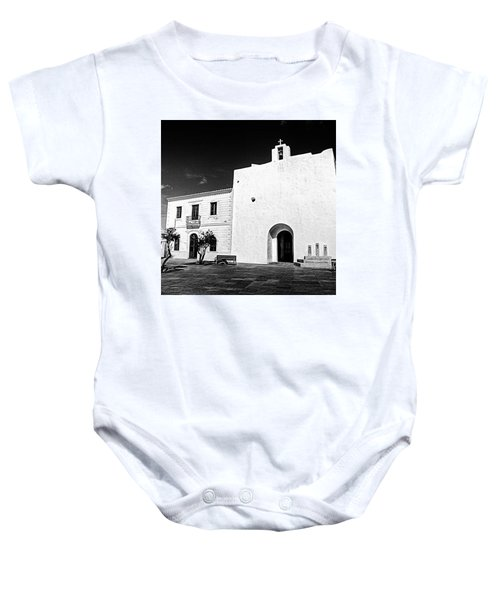 Fortified Church, Formentera Baby Onesie