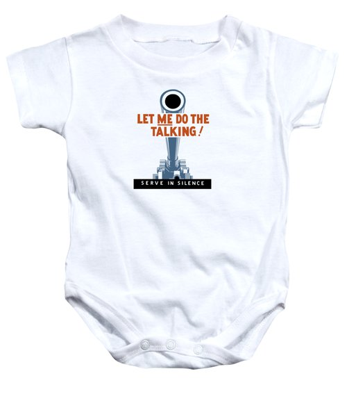 Let Me Do The Talking Baby Onesie