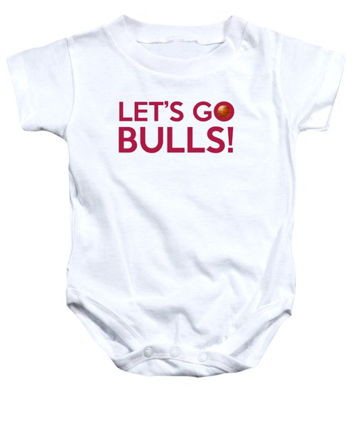 Let's Go Bulls Baby Onesie