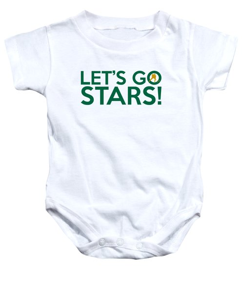 Let's Go Stars Baby Onesie by Florian Rodarte