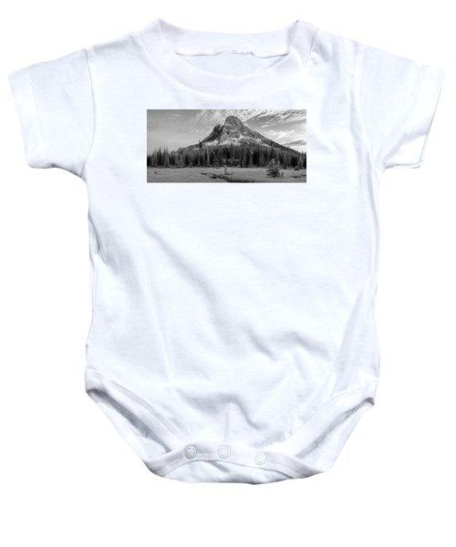 Liberty Mountain At Sunset Baby Onesie