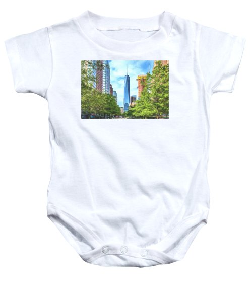 Liberty Tower Baby Onesie