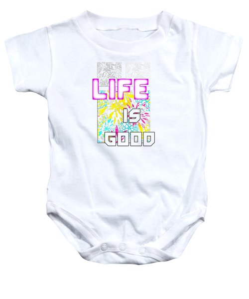 Life Is A Gift Baby Onesie