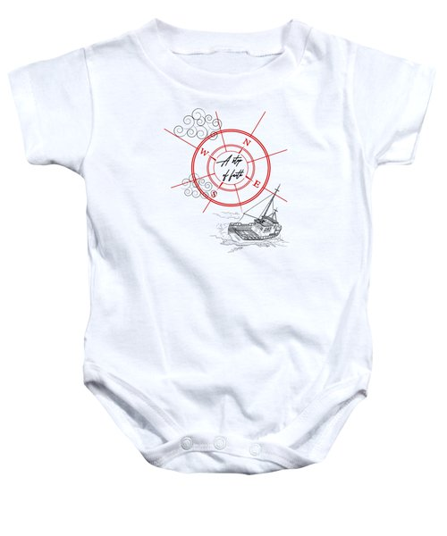 Life Is A Great Adventure Baby Onesie