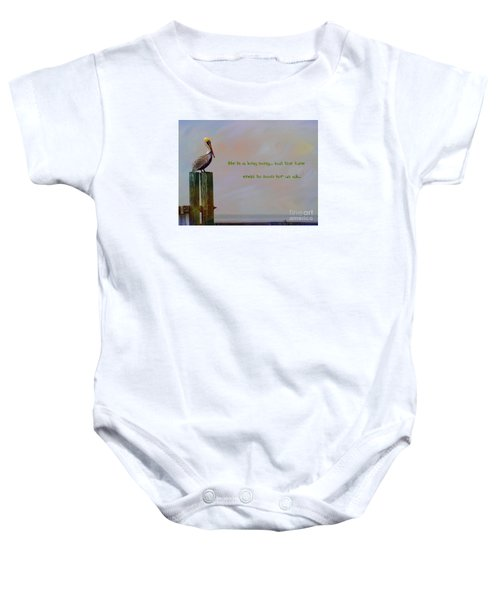 Life Is A Long Song Baby Onesie