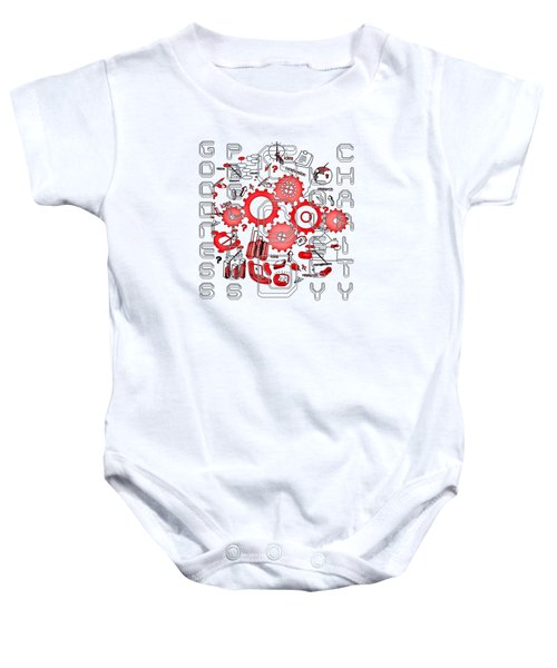 Light United Faith Baby Onesie