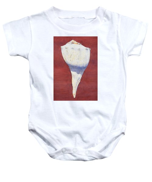Lightning Whelk Conch II Baby Onesie
