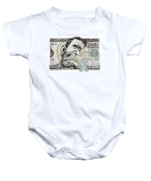 Lincoln Barfs Baby Onesie