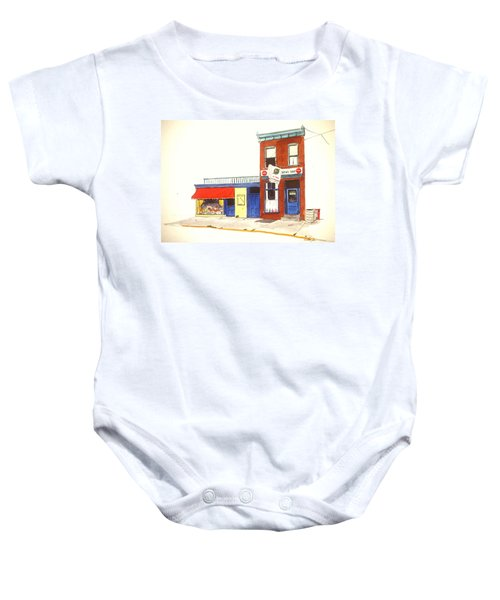 Lincoln News Baby Onesie
