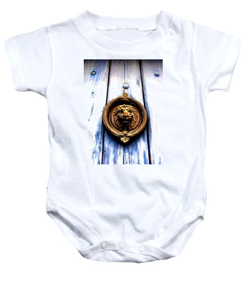 Lion Dreams Baby Onesie