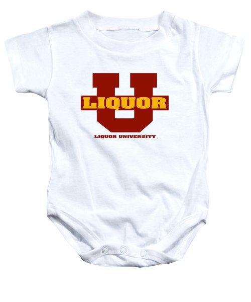 Liquor U Baby Onesie