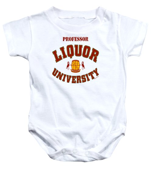 Liquor University Professor Baby Onesie