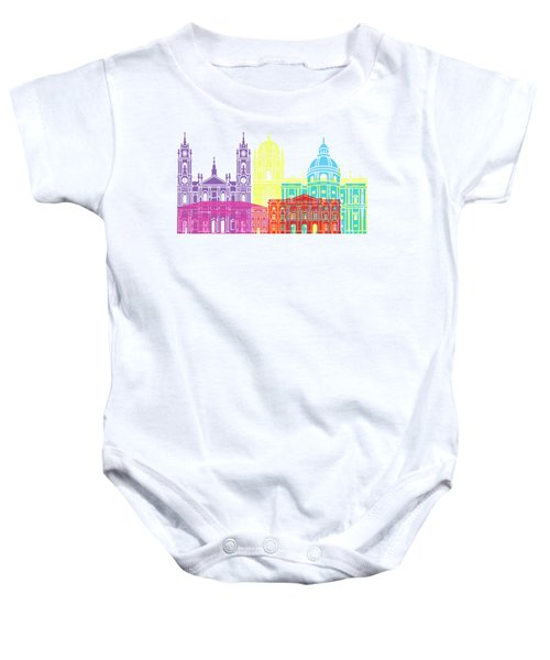 Lisbon V2 Skyline Pop Baby Onesie