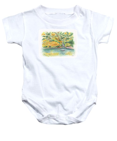 Lithia Park Reflections Baby Onesie