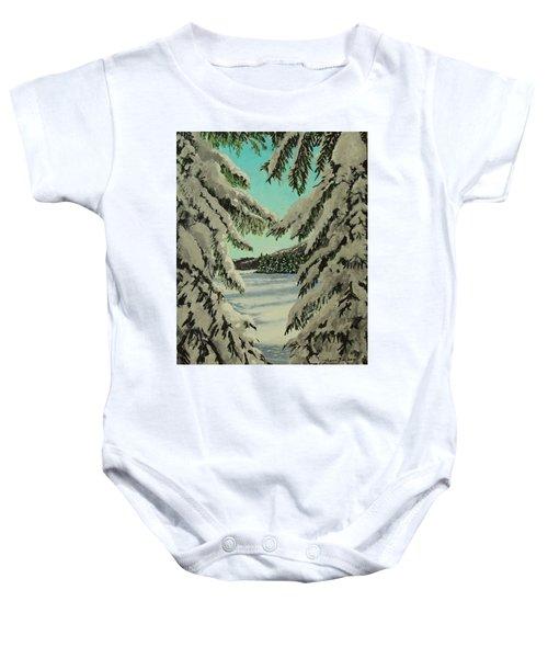 Little Brook Cove Baby Onesie