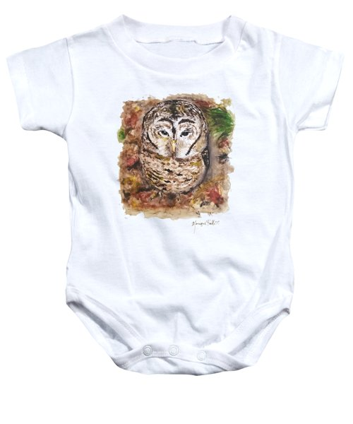 Little Owl Baby Onesie