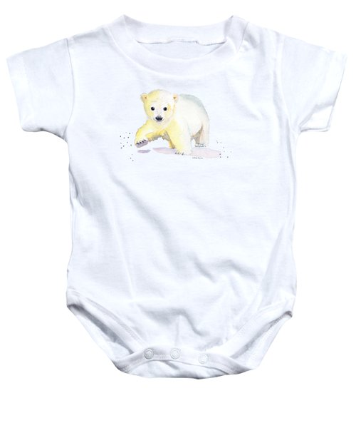 Little Polar Bear Baby Onesie
