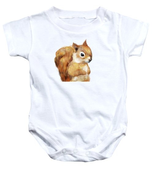 Little Squirrel Baby Onesie