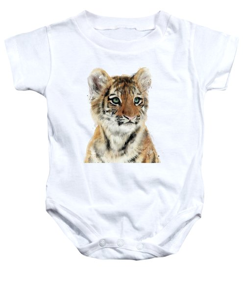 Little Tiger Baby Onesie by Amy Hamilton