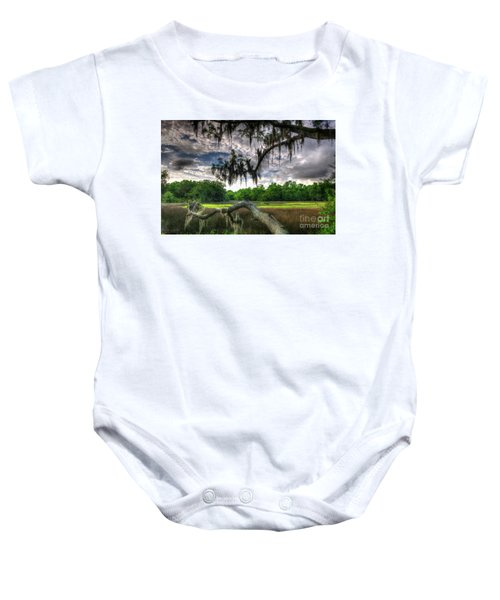 Live Oak Marsh View Baby Onesie