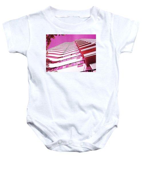 Living Pink Baby Onesie