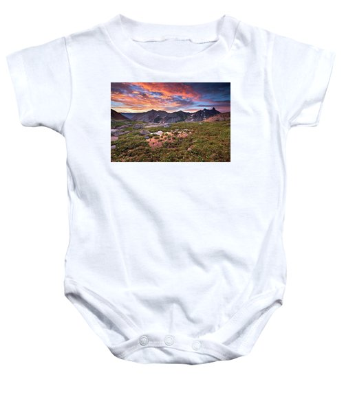 Lizard Head Wilderness Baby Onesie