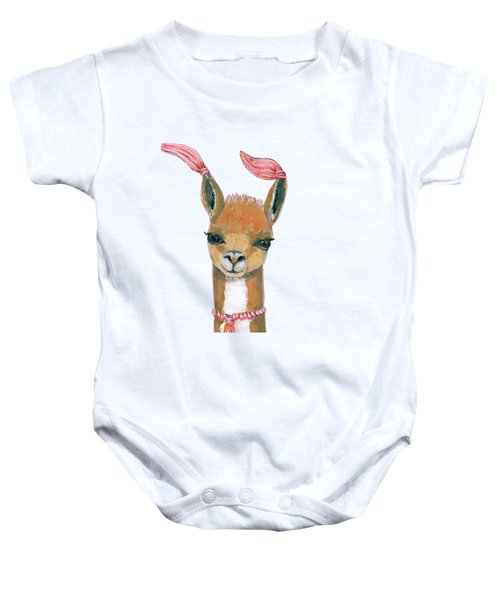 Llama Baby Onesie