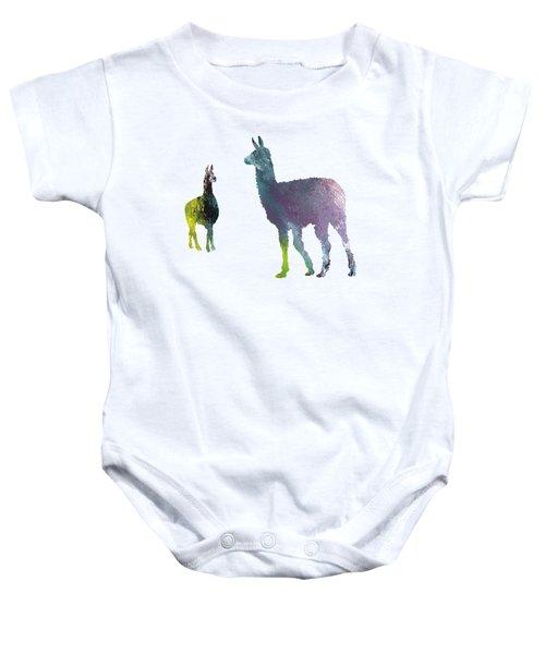 Llama Baby Onesie by Mordax Furittus