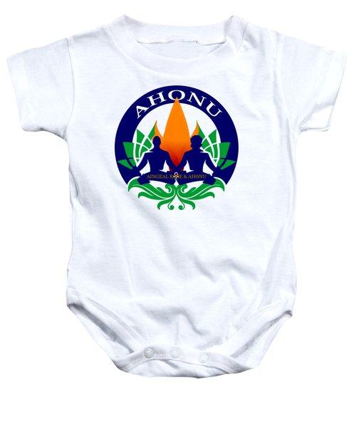 Logo Of Ahonu.com Baby Onesie