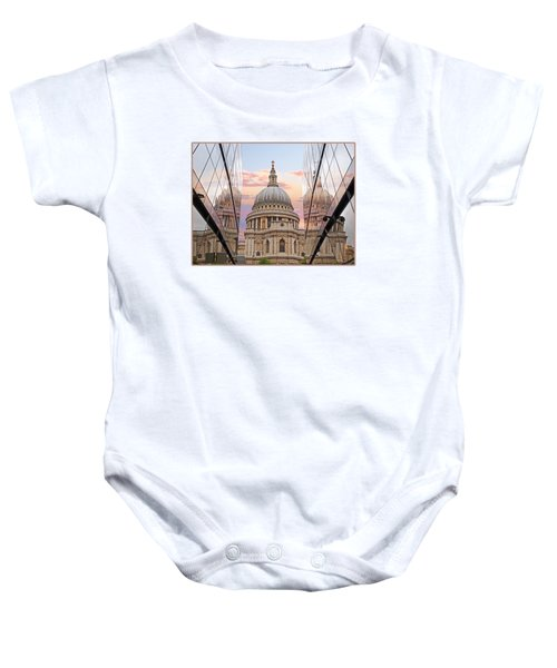 London Awakes - St. Pauls Cathedral Baby Onesie