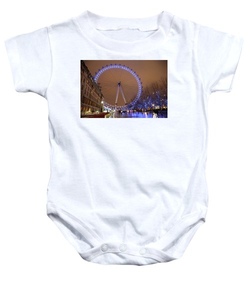 Baby Onesie featuring the photograph Big Wheel by David Chandler