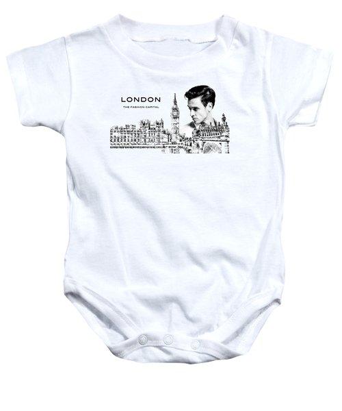 London The Fashion Capital Baby Onesie