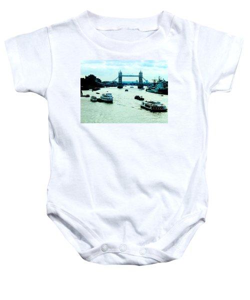 London Uk Baby Onesie