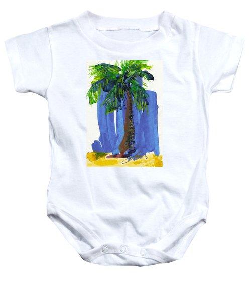 Lone Palm Baby Onesie