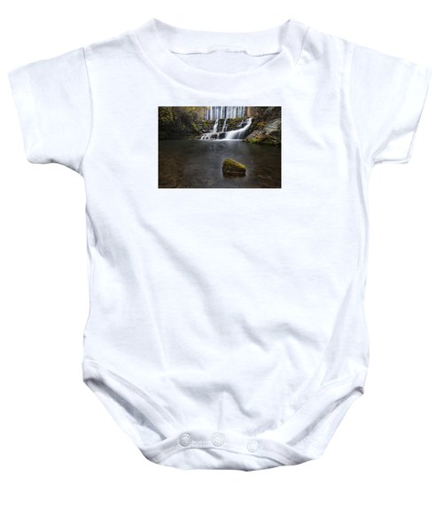 Lone Rock At The Falls Baby Onesie