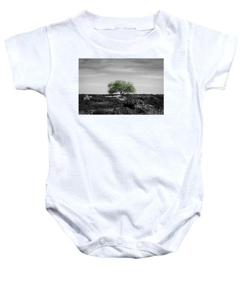 Lonely Tree Baby Onesie