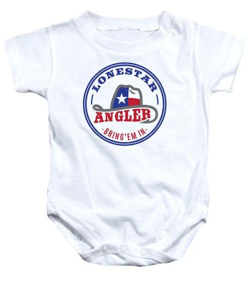 Lonestar Angler Baby Onesie