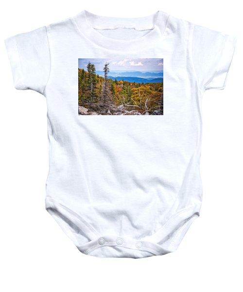 Looking East From Bear Rocks 4290c Baby Onesie
