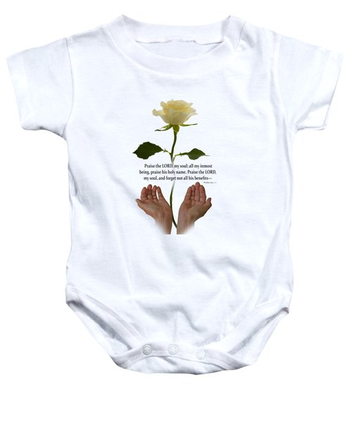 Lord, O My Soul Baby Onesie