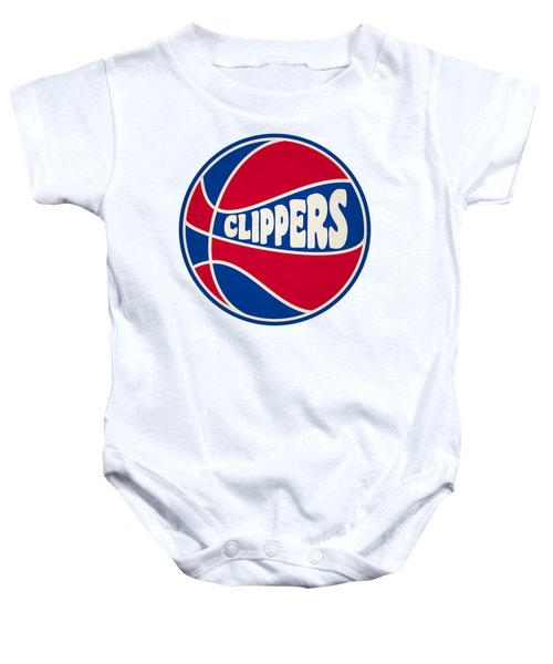 Los Angeles Clippers Retro Shirt Baby Onesie