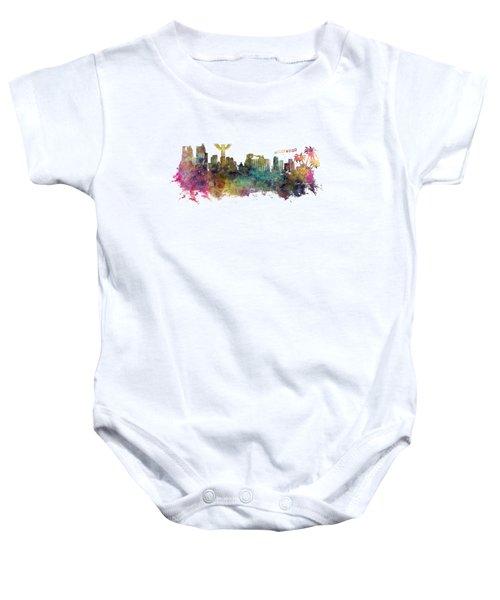 Los Angeles Skyline Baby Onesie