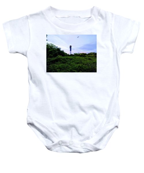 Lost Lighthouse Baby Onesie