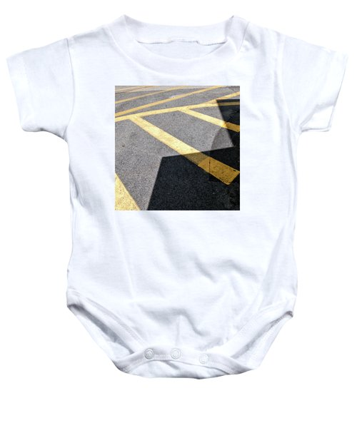Baby Onesie featuring the photograph Lot Lines by Eric Lake