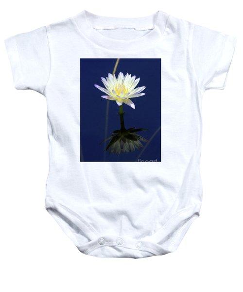 Lotus Reflection Baby Onesie