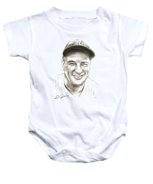 Lou Gehrig Baby Onesie