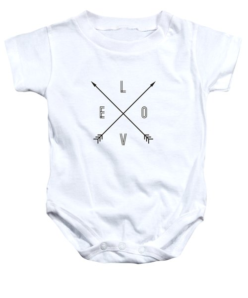 Love Compass Baby Onesie