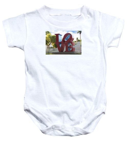 Love In The Park Baby Onesie
