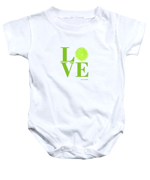 Love Lime Baby Onesie